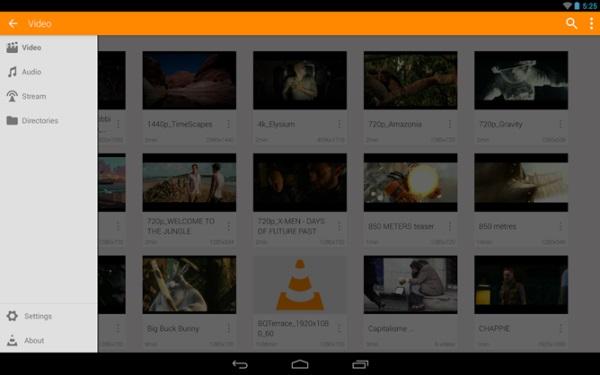 VLC media player 03