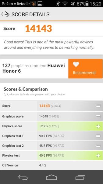 Honor 6 3D Mark 06