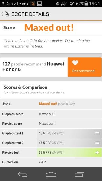 Honor 6 3D Mark 08