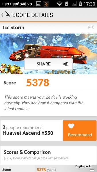 Huawei Y550 3D Mark 04
