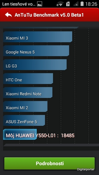 Huawei Y550 AnTuTu Benchmark 01