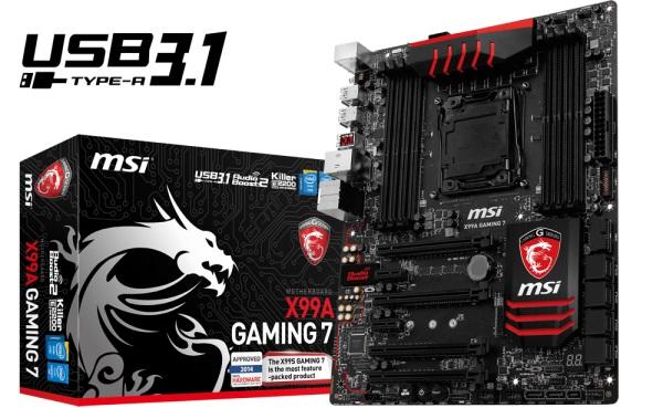 MSI X99A Gaming