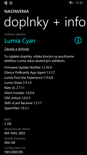 Nokia Lumia 930 Info telefon