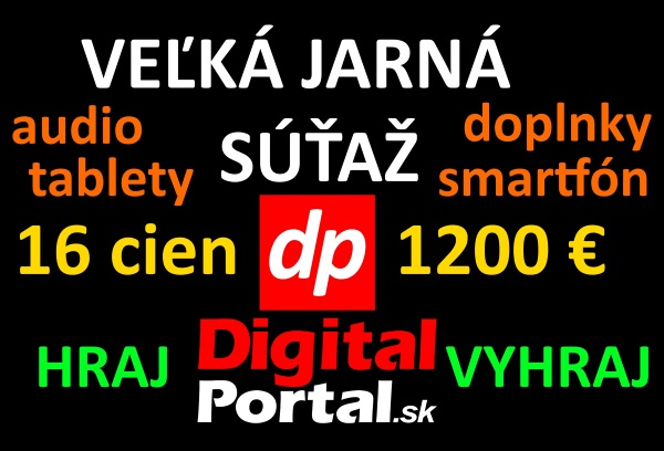 Veľká jarná súťaž (2015) s DigitalPortal.sk