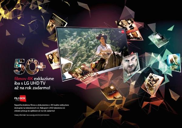 LG TV UltraHD FilmBox