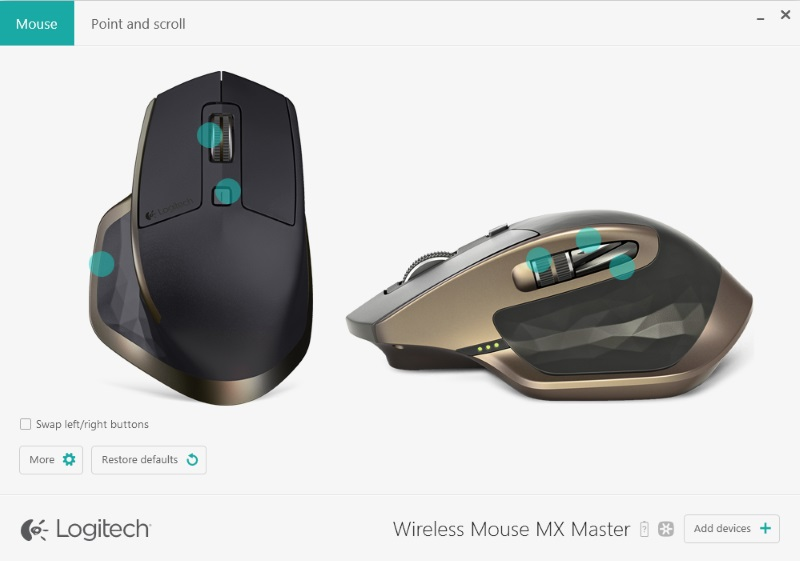 Logitech Options 01
