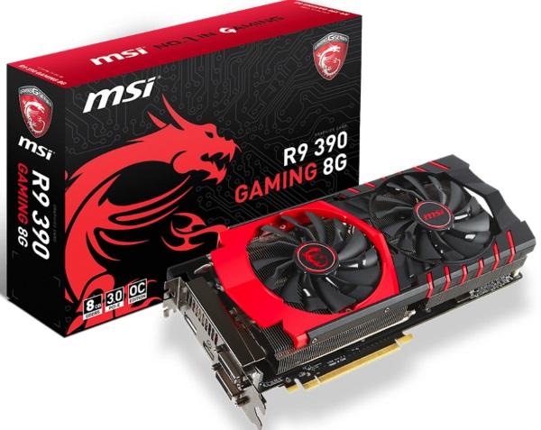 MSI R9 390 Gaming 8G