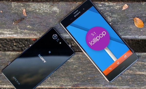 Sony Xperia Z seria Android Lollipop 5.1