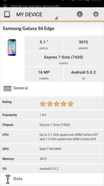 Samsung Galaxy S6 Edge 3D Mark 02