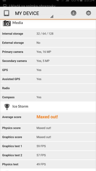 Samsung Galaxy S6 Edge 3D Mark 04