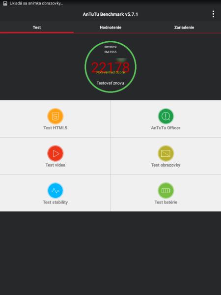 Samsung Galaxy Tab A9.7 AnTuTu Benchmark 01
