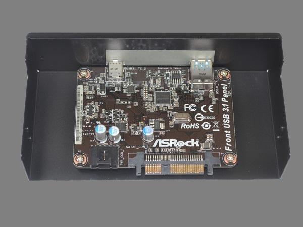 ASRock USB3.1 port predny panel 02