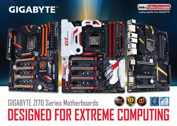 Gigabyte chipset Z170
