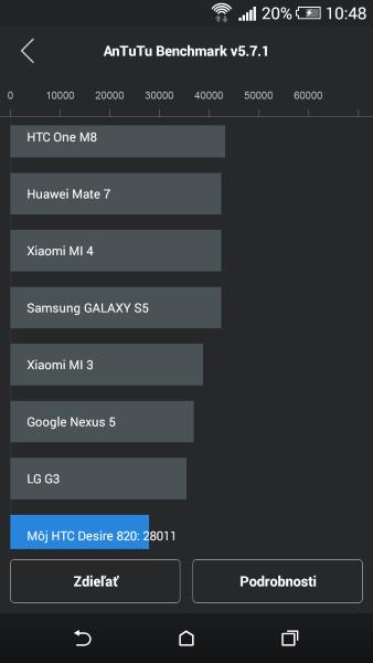 HTC Desire 820 AnTuTu Benchmark 02