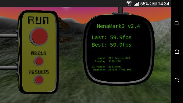 HTC Desire 820 NenaMark 01