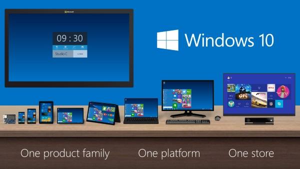 Windows 10 Platforma