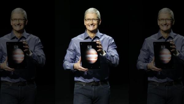 Apple iPad Pro Tim Cook