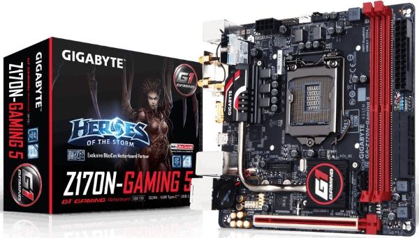 Gigabyte a Z170N-Gaming 5 01