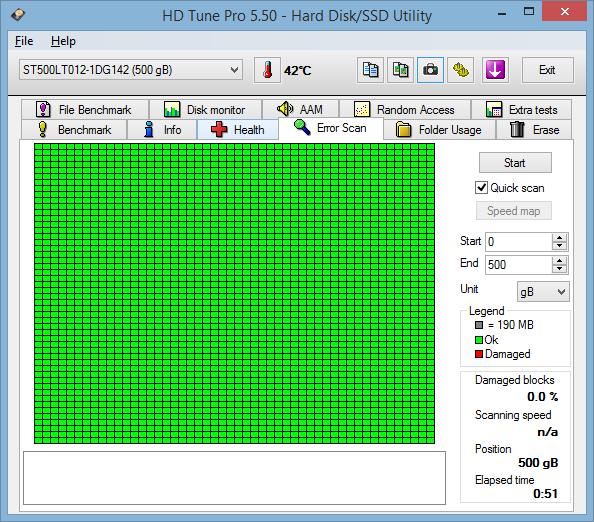 HP 15-r164nc HD Tune 06
