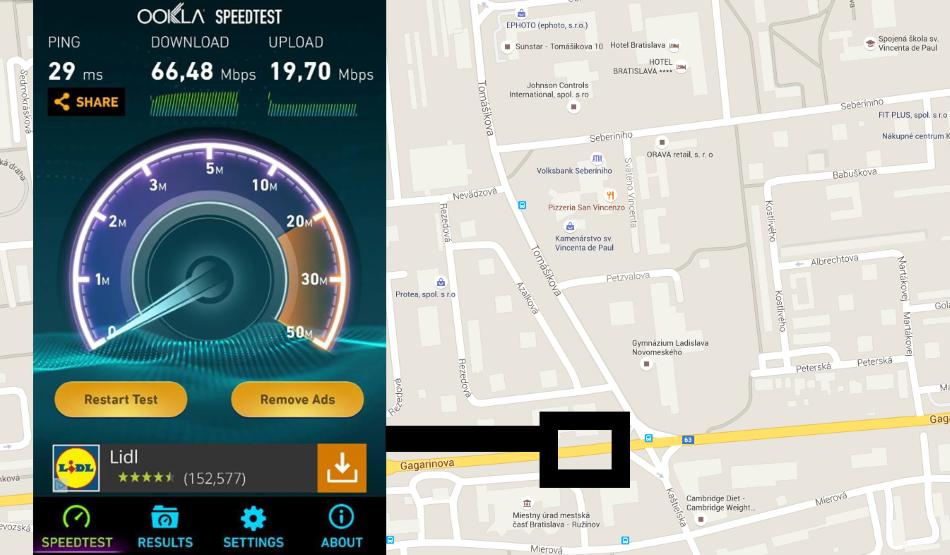 SWAN 4G LTE 02 Bratislava-Ruzinov Gagarinova