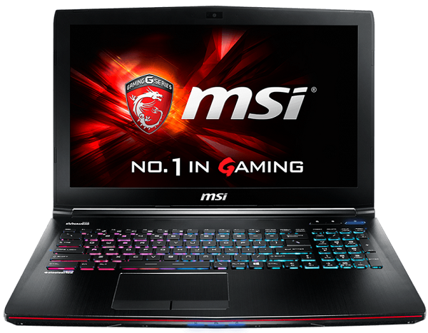 MSI GE62 Apache Pro 10