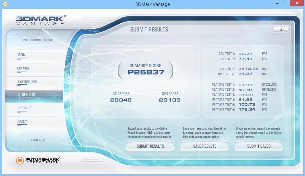 MSI GE62 Apache Pro 3D Mark Vantage 03