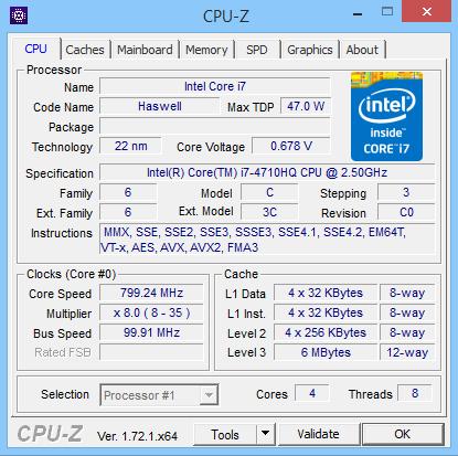 MSI GE62 Apache Pro CPU-Z 01