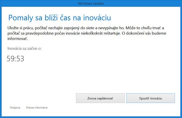 Windows 10 inovácia
