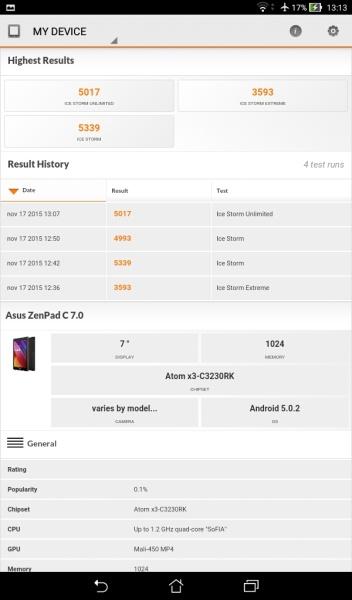 ASUS ZenPad C 7.0 3D Mark 01