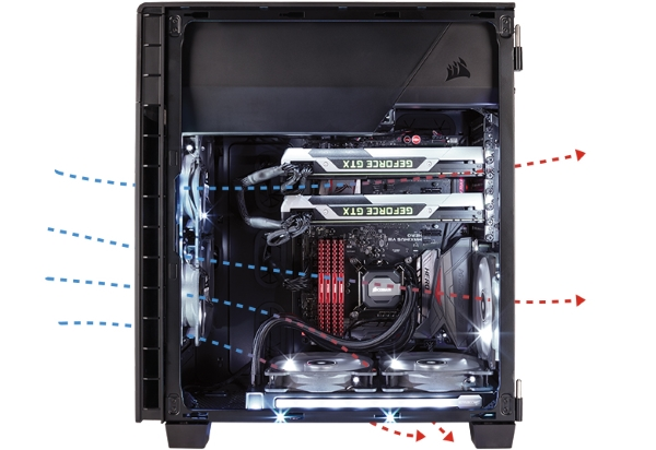 Corsair Carbide ​​600C 03