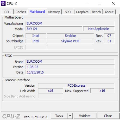 Eurocom Sky X4 CPU-Z 03