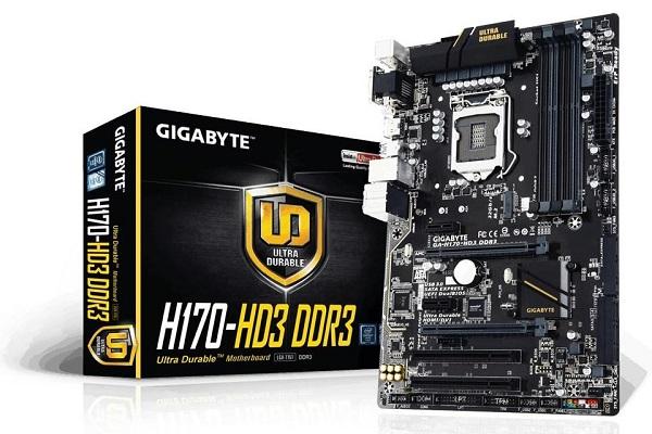 Gigabyte GA-H170-HD3 DDR3
