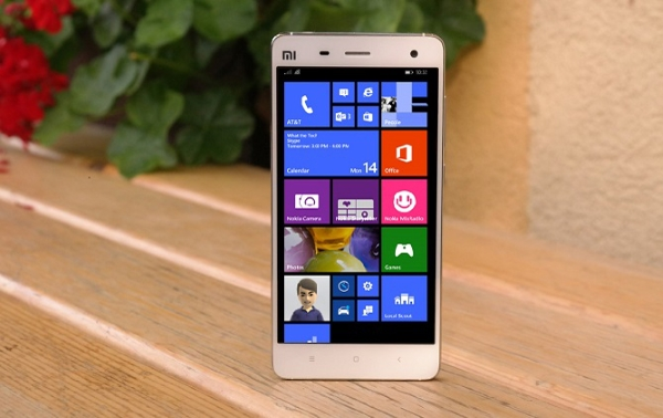 Xiaomi Mi4 Windows 10 Mobile