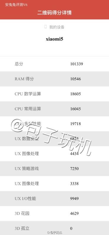 Xiaomi Mi5 AnTuTu leak 01