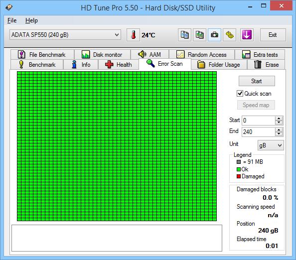 ADATA Premier SP550 240GB HD Tune 05