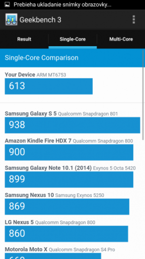 Elephone P8000 GeekBench 03