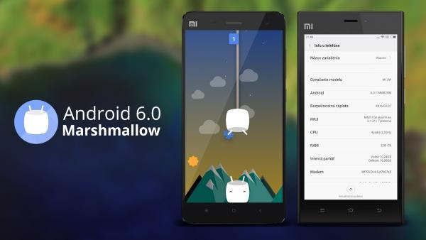 Xiaomi Mi4 a Mi3 Android 6.0 Marshmallow