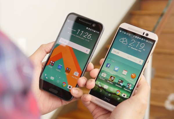 HTC 10 vs. HTC One M9 01