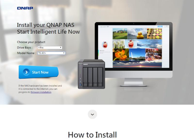QNAP TS-451+ instalacia foto 01