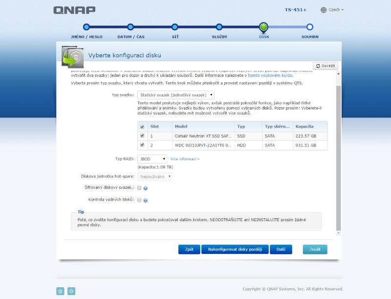 QNAP TS-451+ instalacia foto 13