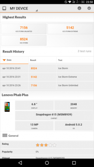 Lenovo Phab Plus 3D Mark 01