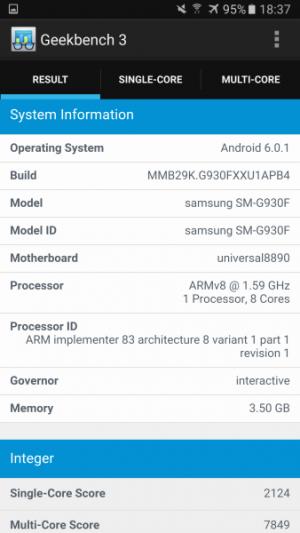 Samsung Galaxy S7 GeekBench 02
