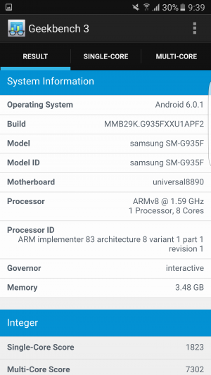 Samsung Galaxy S7 Edge Geekbench 02