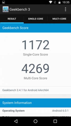 Lenovo Moto X Force GeekBench 01