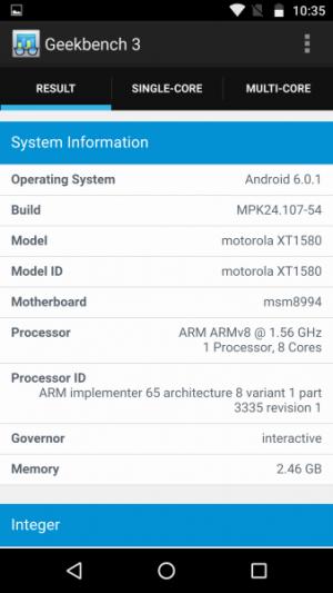 Lenovo Moto X Force GeekBench 02