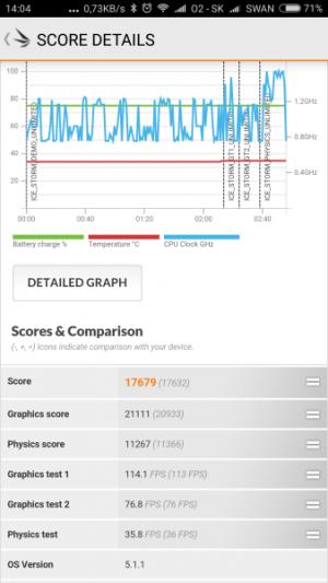 Xiaomi Redmi Note 3 Pro 3D Mark 06