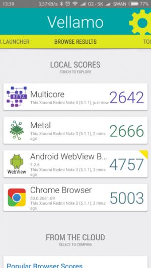 Xiaomi Redmi Note 3 Pro Vellamo 01