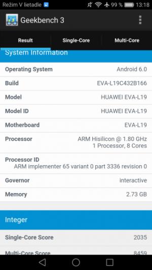 Huawei P9 GeekBench 02