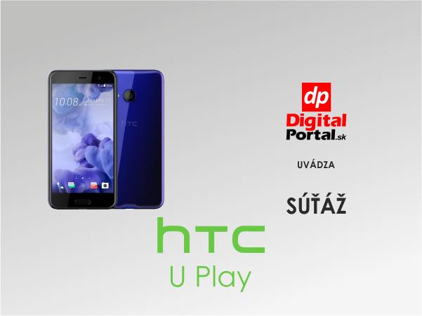 Hraj a vyhraj: Letná súťaž o výborný smartfón HTC U Play!